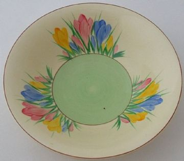 Clarice Cliff Spring Crocus Bowl
